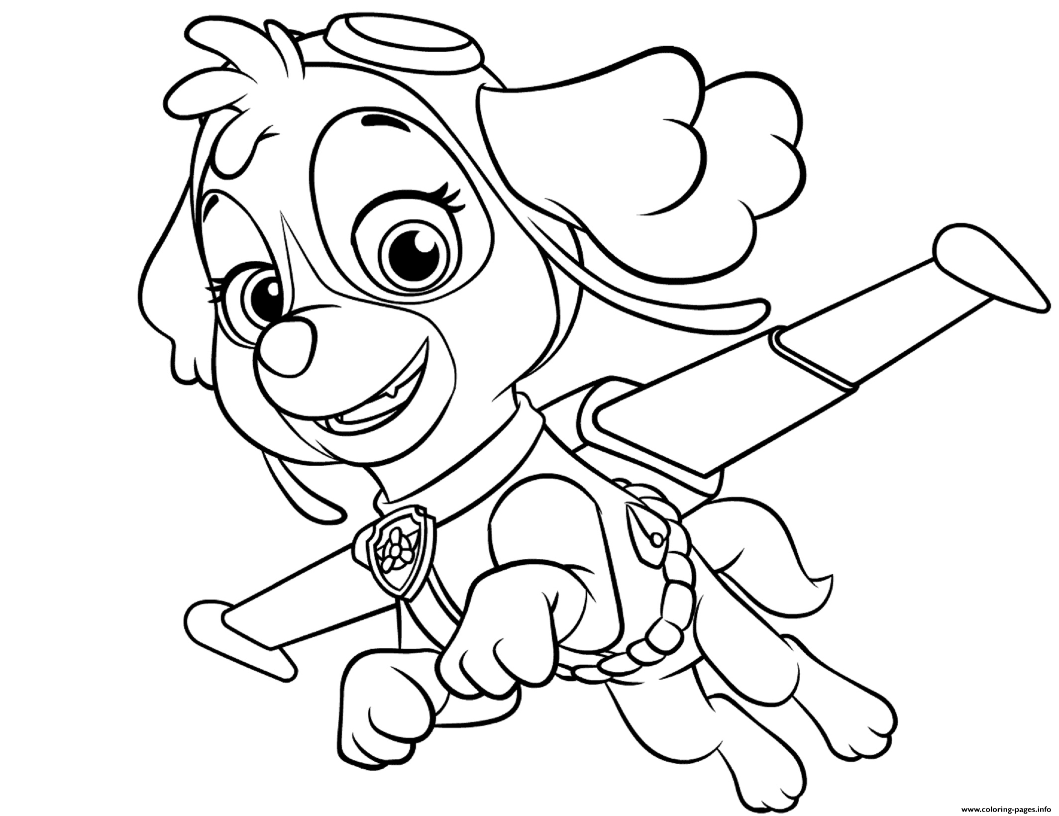 paw patrol coloring pages sky paw patrol coloring pages printable free coloring sheets pages coloring patrol paw sky