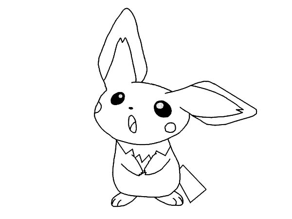pichu coloring pages how to draw pichu coloring page color luna pages coloring pichu