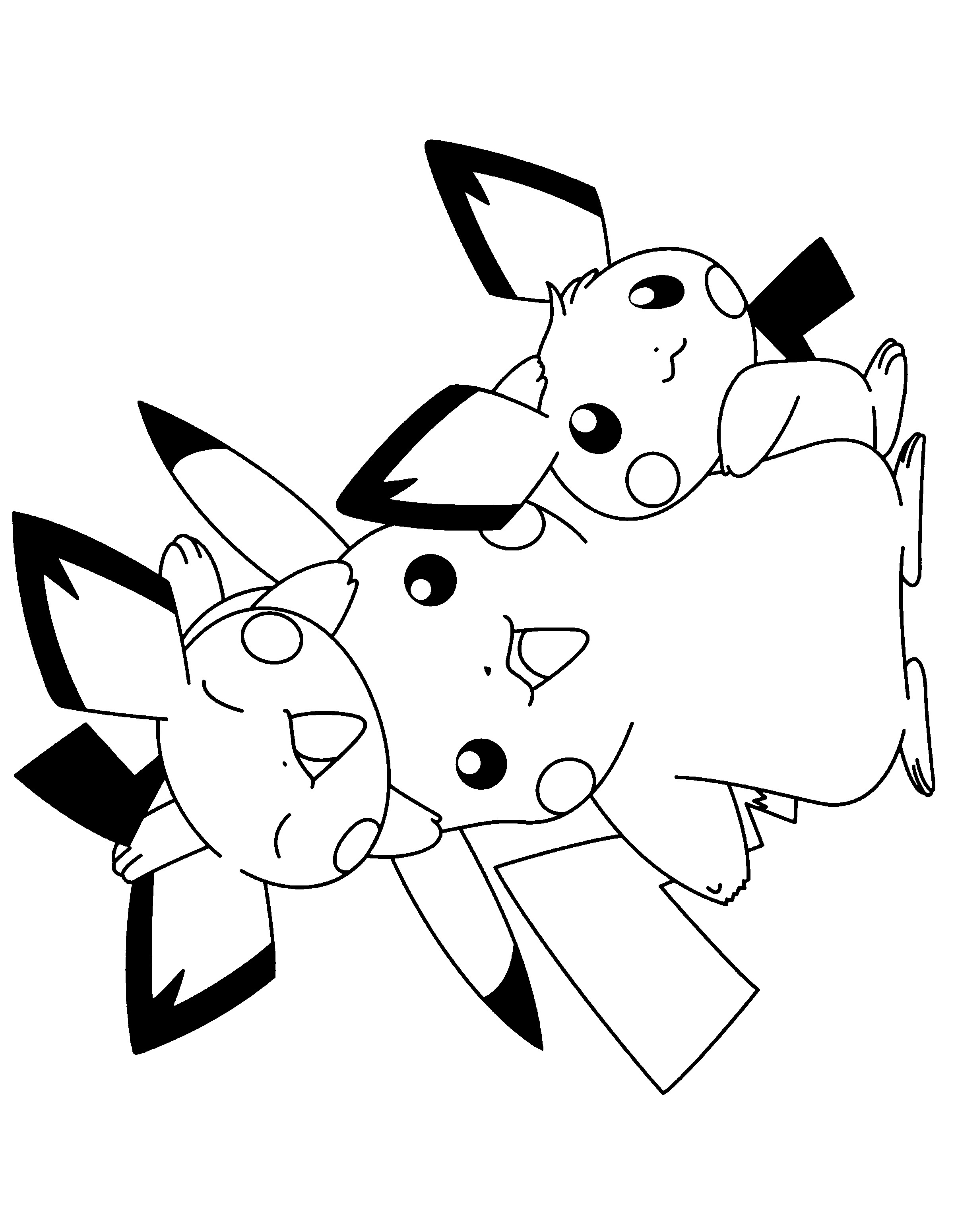 pichu coloring pages pichu coloring page free printable coloring pages pages pichu coloring