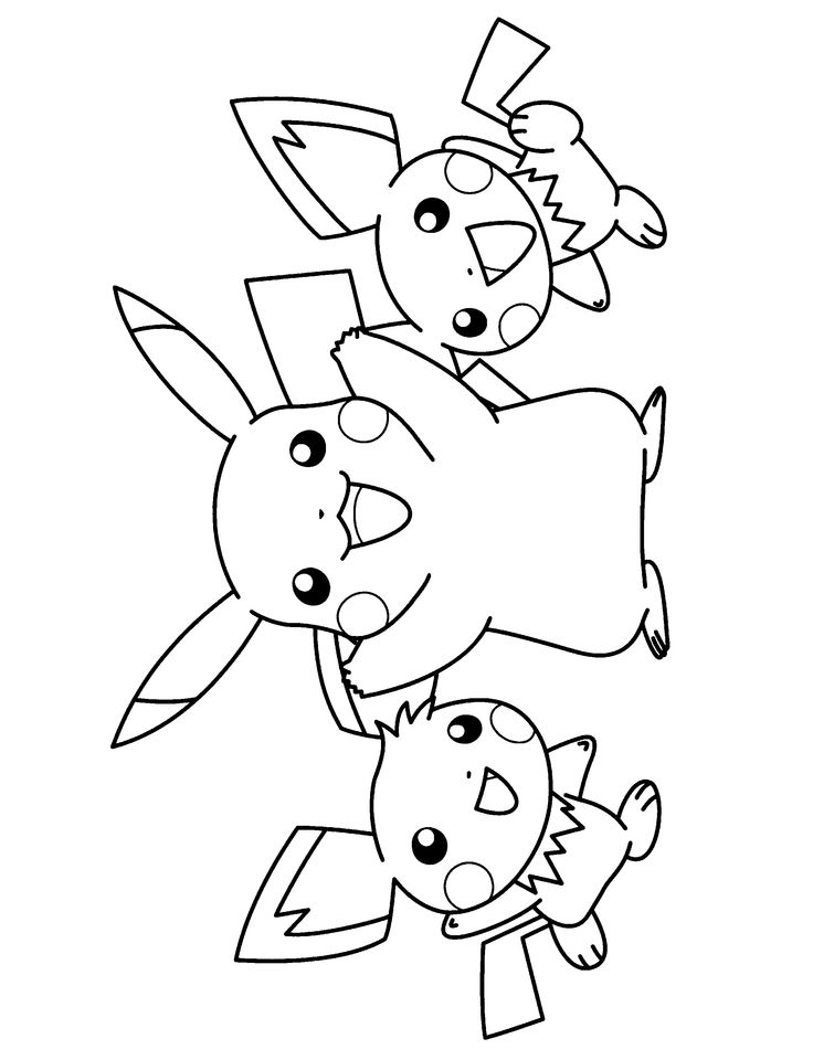 pichu coloring pages pichu drawing at getdrawingscom free for personal use coloring pages pichu