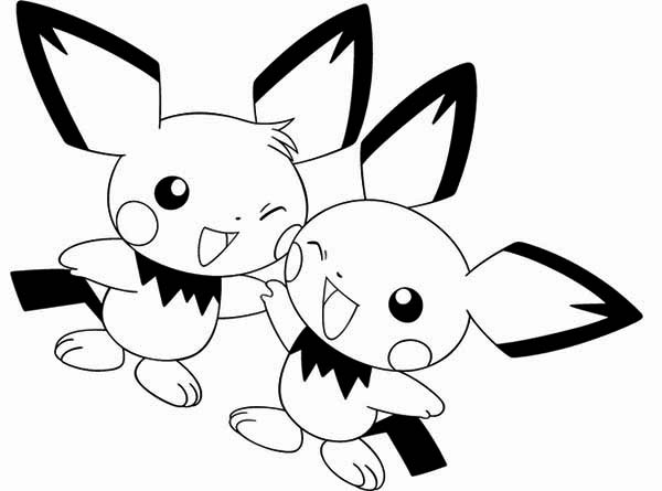 pichu coloring pages pichu is asking for something coloring page color luna coloring pages pichu