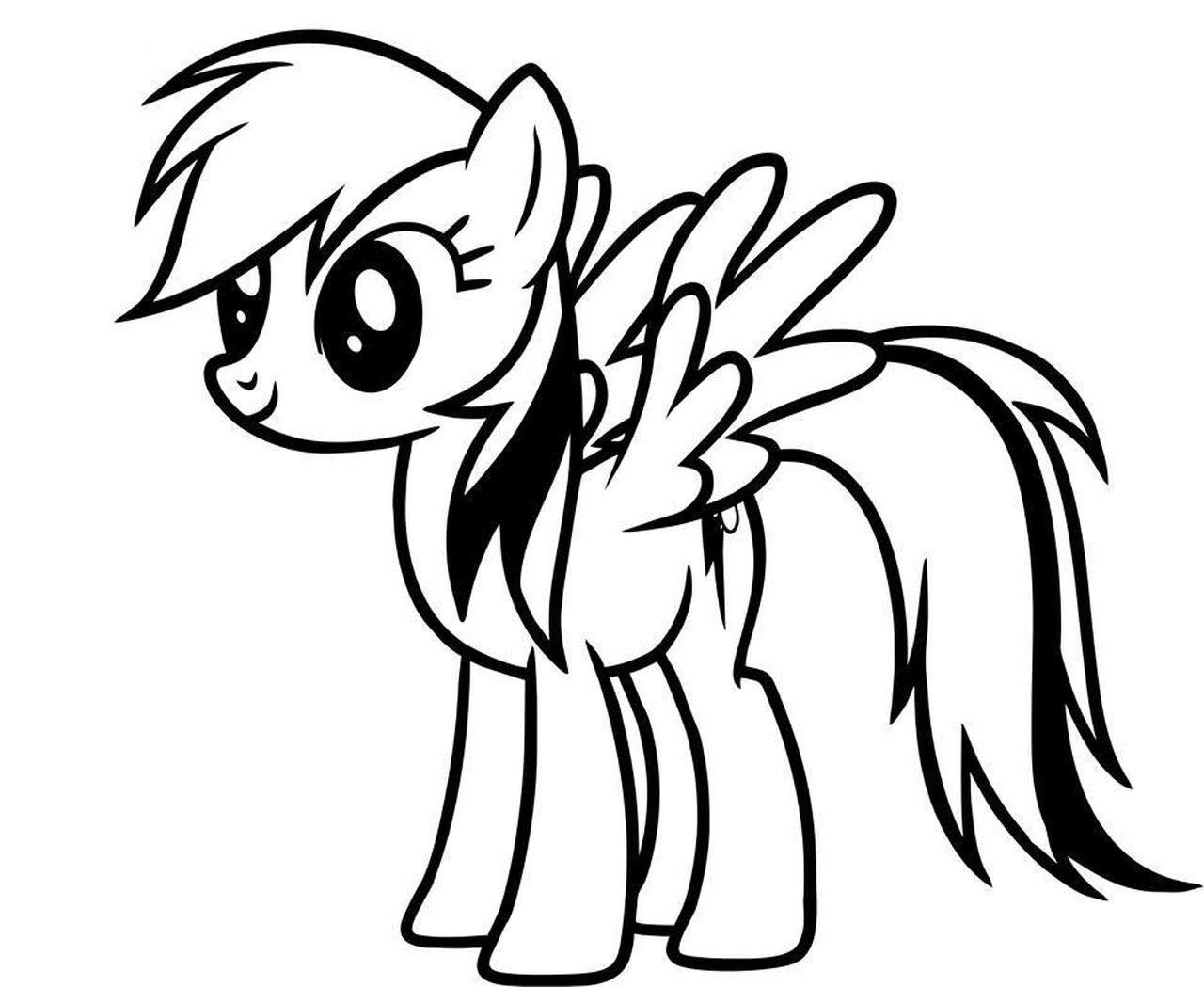 pictures of rainbow dash my little pony how to draw a my little pony rainbow dash easy drawing dash pictures rainbow pony of little my