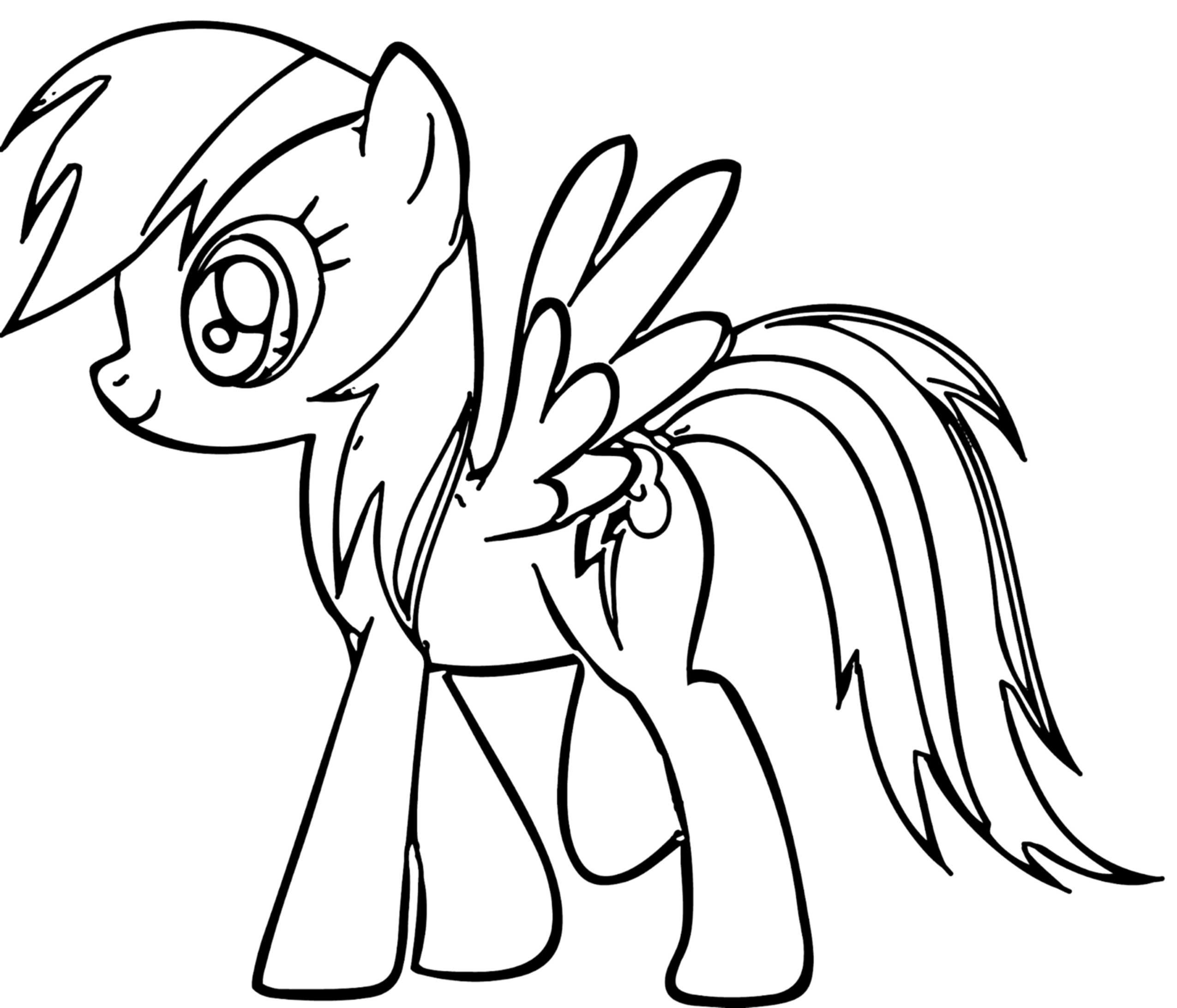 pictures of rainbow dash my little pony my little pony coloring pages rainbow dash pony coloring dash my rainbow little pony of pictures