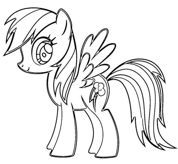 pictures of rainbow dash my little pony my little pony rainbow dash colouring pages coloringsnet pony of rainbow pictures dash little my