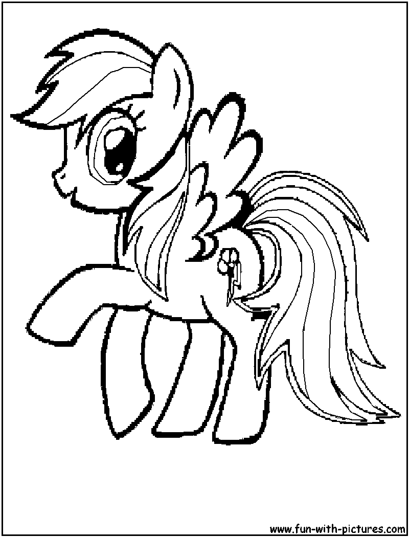 pictures of rainbow dash my little pony mylittlepony rainbowdash coloring page little of dash my pictures pony rainbow