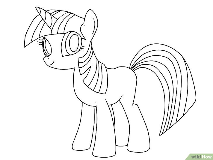 pony drawing how to draw a pony really easy drawing tutorial drawing pony