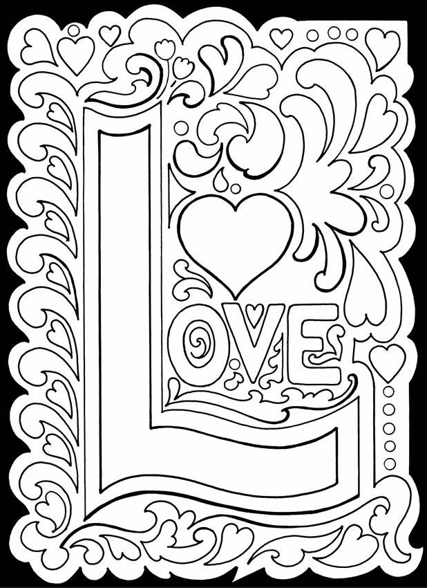 printable love coloring pages i love you coloring pages coloring love pages printable