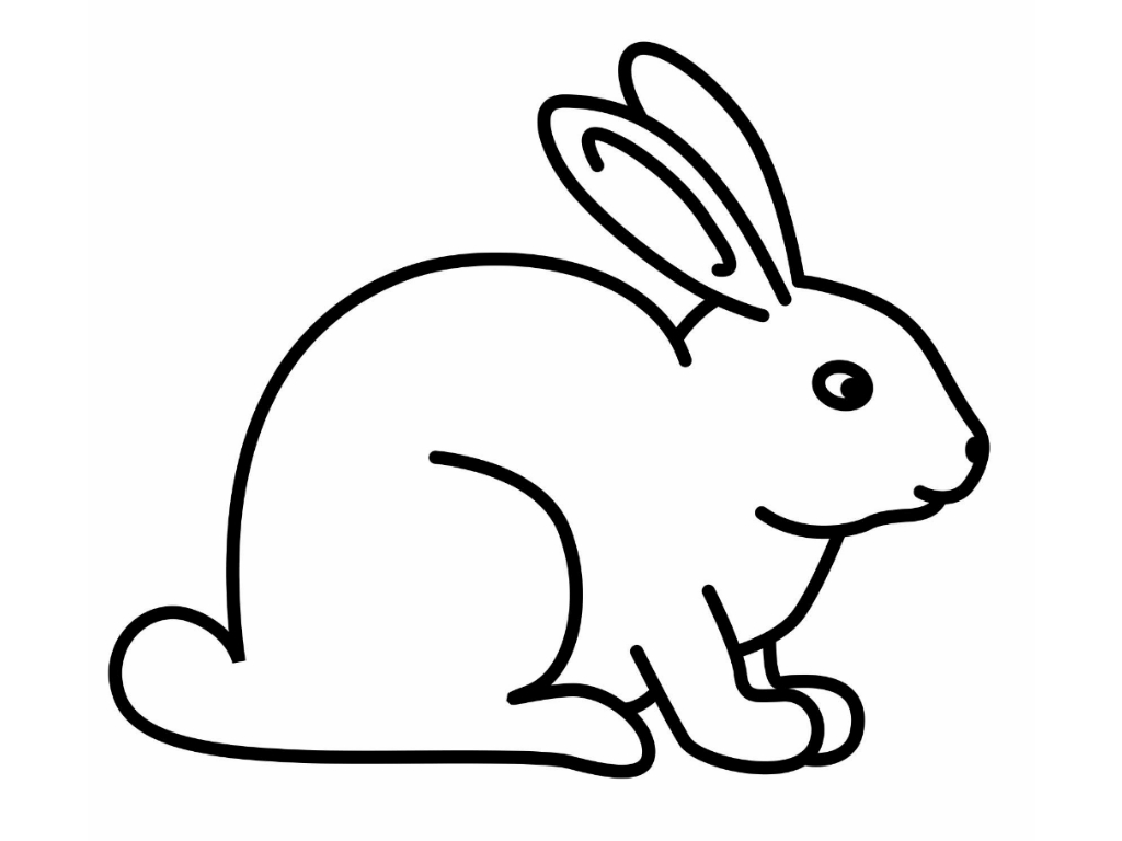 rabbit picture for colouring free printable rabbit coloring pages for kids picture colouring rabbit for