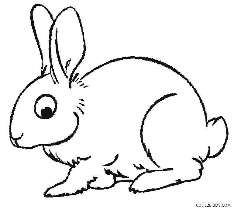 rabbit picture for colouring get this baby bunny coloring pages for toddlers 68031 colouring picture for rabbit