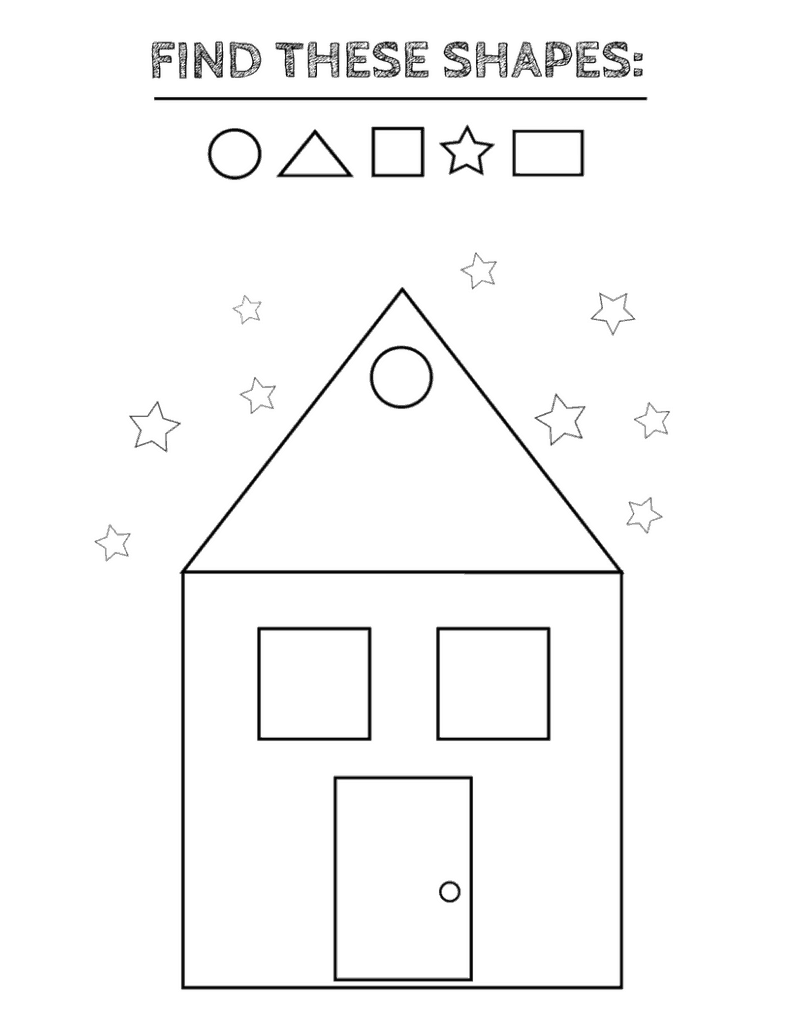 shapes coloring pages pdf print free coloring pages of shapes for kids pdf pages shapes coloring