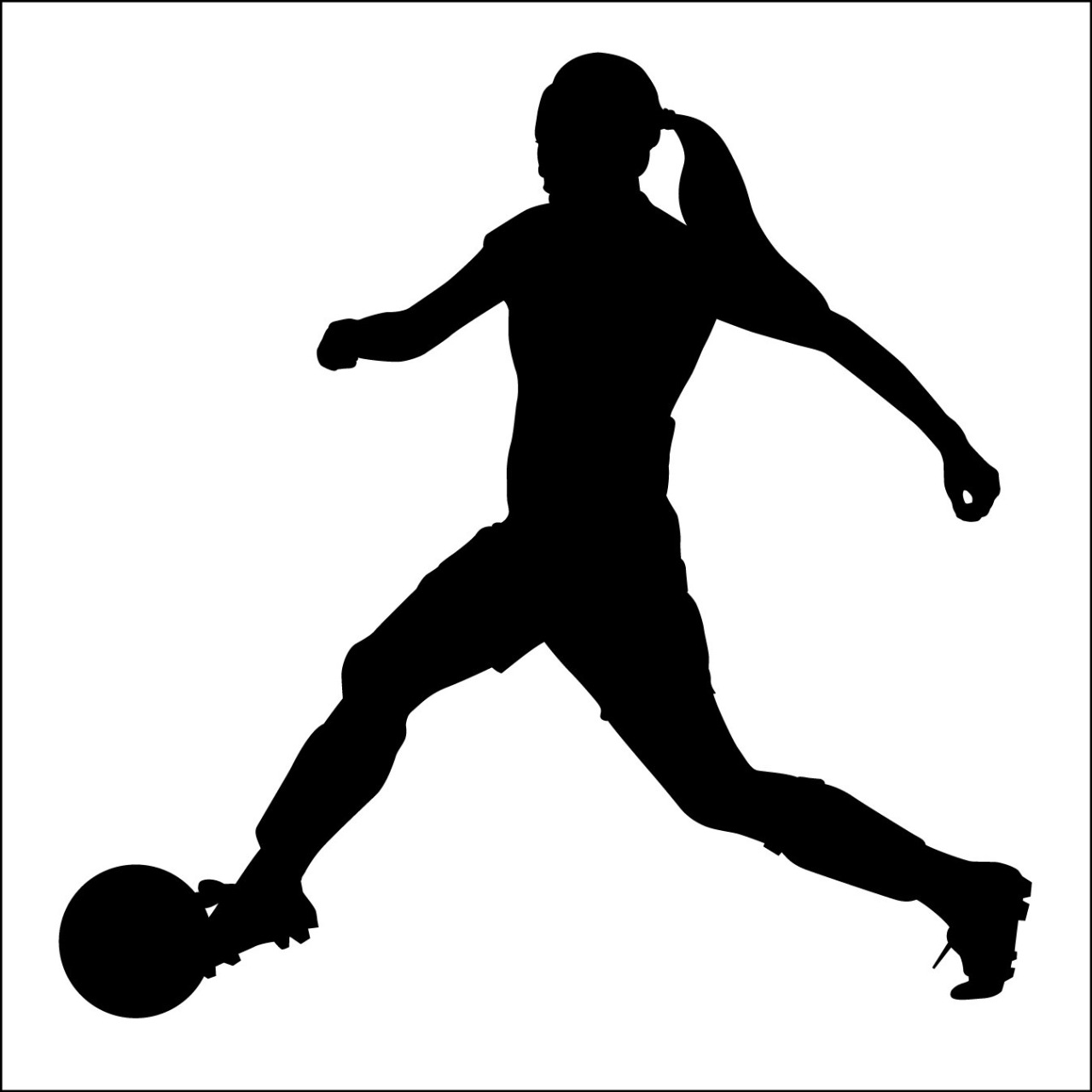 soccer player silhouette boy playing soccer children39s wall decor boy soccer player soccer silhouette