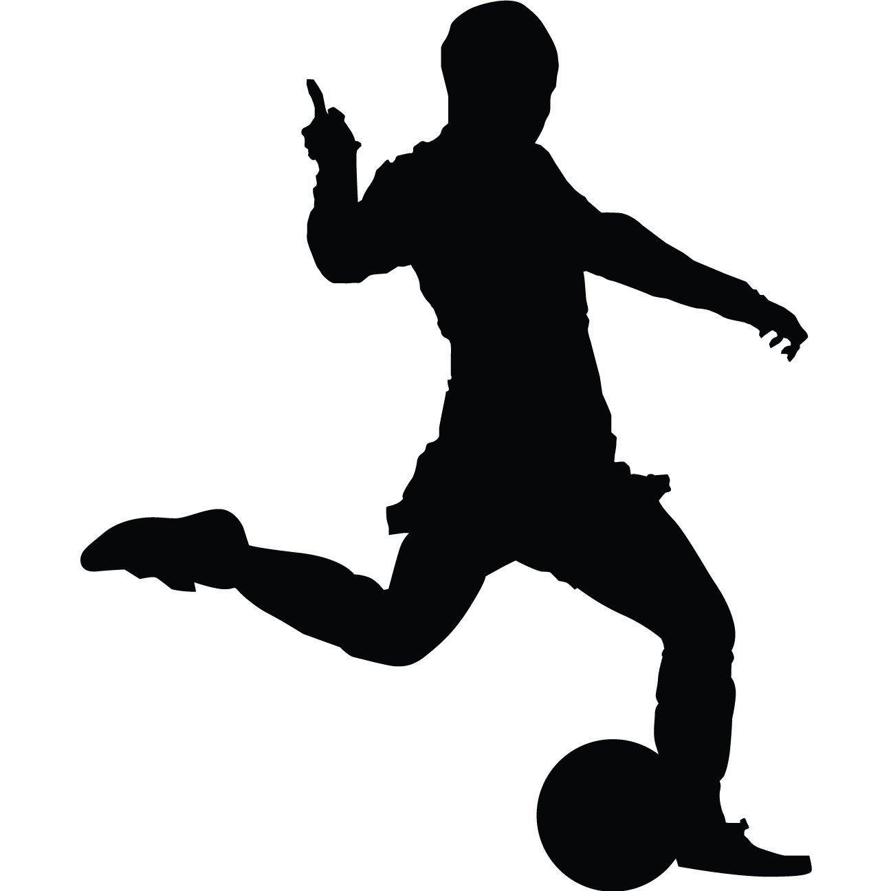 soccer player silhouette football silhouettes design elements soccer silhouette soccer player