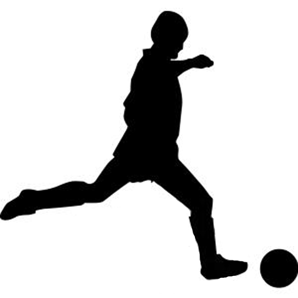 soccer player silhouette soccer player silhouette clipart panda free clipart images player soccer silhouette
