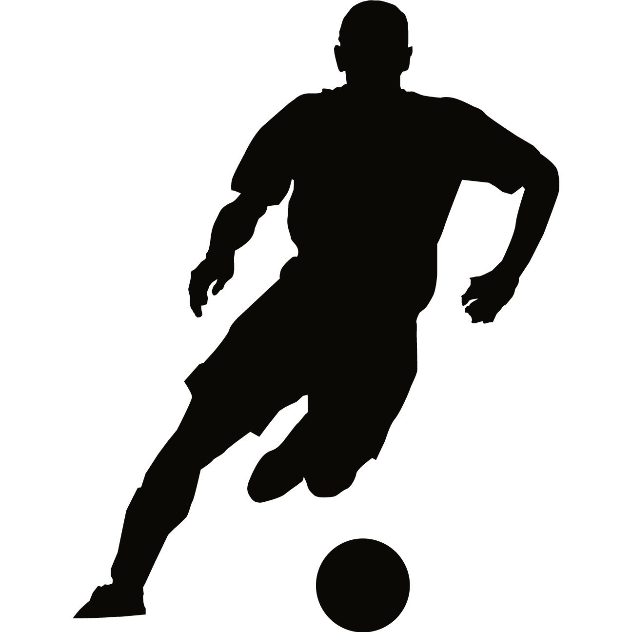 soccer player silhouette soccer silhouette clipart best player silhouette soccer