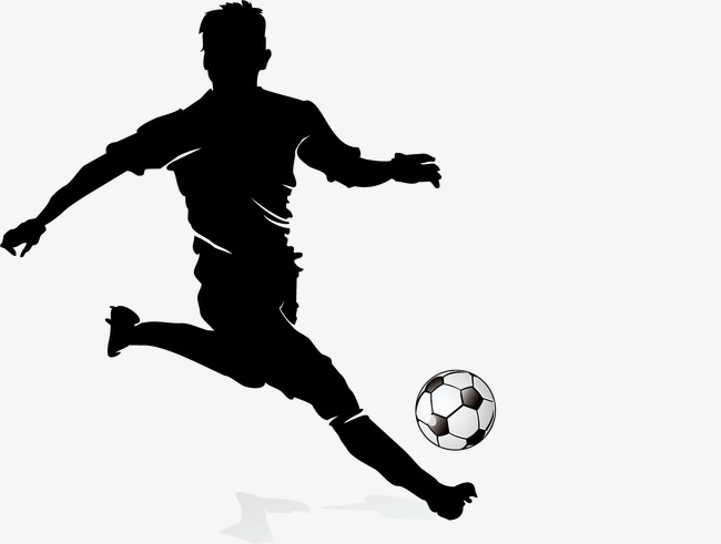 soccer player silhouette the best free soccer player silhouette images download player soccer silhouette