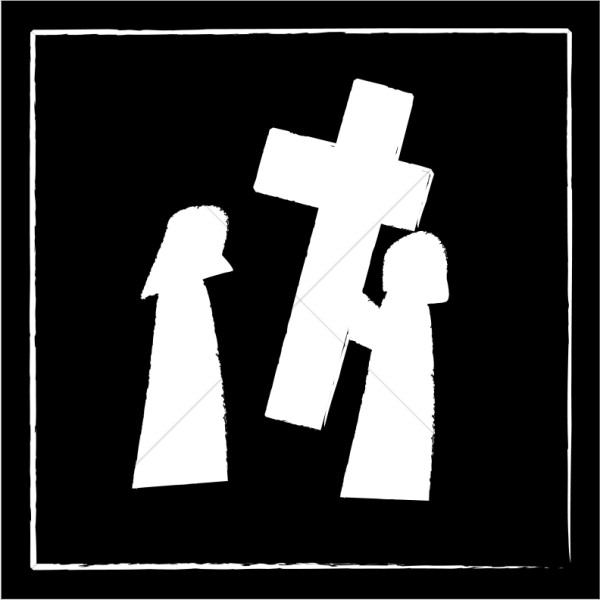 stations of the cross clipart the twelfth station jesus dies on the cross clipart the clipart stations of cross