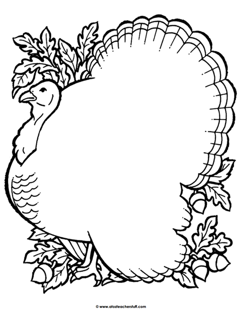 turkey outline for coloring turkey pattern use the printable outline for crafts turkey for coloring outline