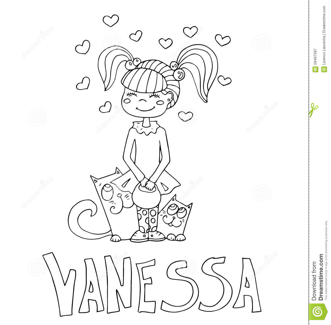 vanessa coloring pages coloring page vanessa and sports pages vanessa coloring