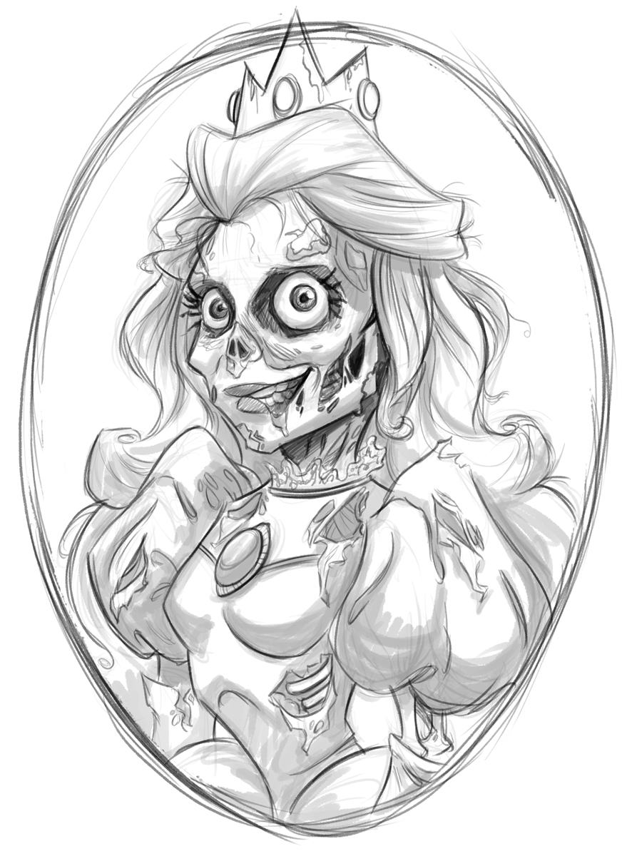zombie princess coloring pages how to draw zombie ariel step by step zombies monsters zombie princess coloring pages