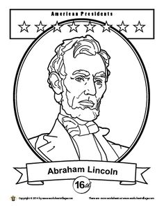 abraham lincoln coloring pages abraham lincoln drawing at getdrawings free download pages coloring lincoln abraham