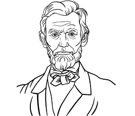 abraham lincoln coloring pages celebrities coloring games coloringgamesnet page 2 abraham lincoln pages coloring