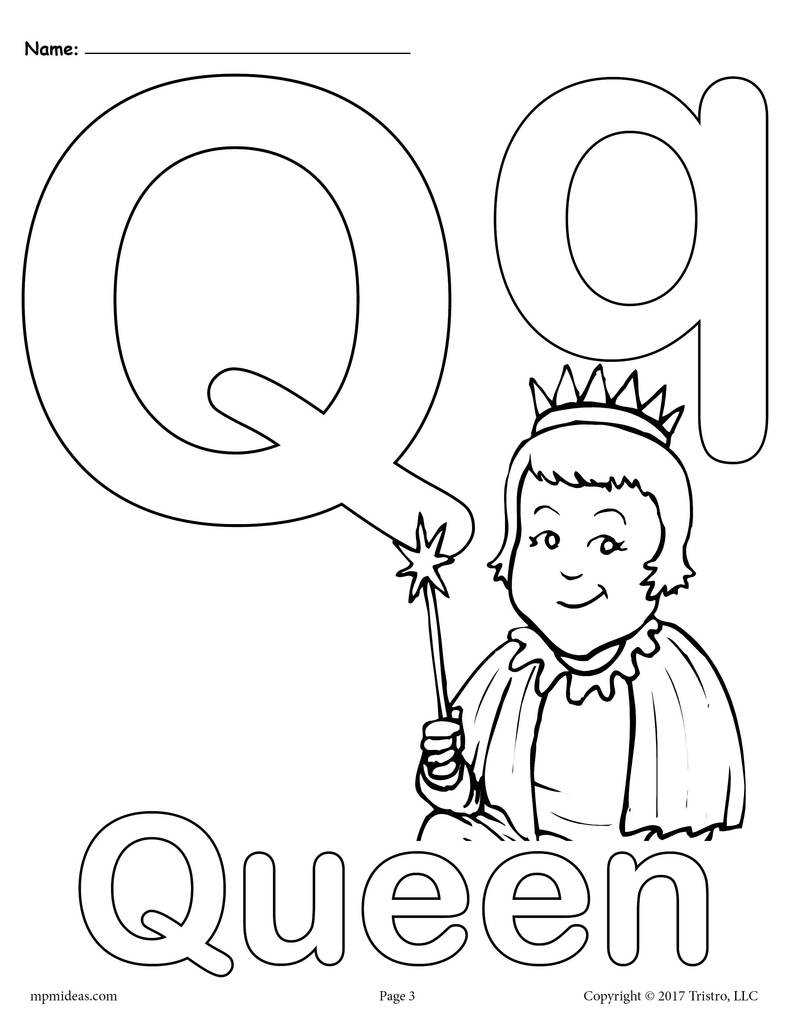 alphabet coloring pages q free printable alphabet coloring pages for kids best pages alphabet coloring q