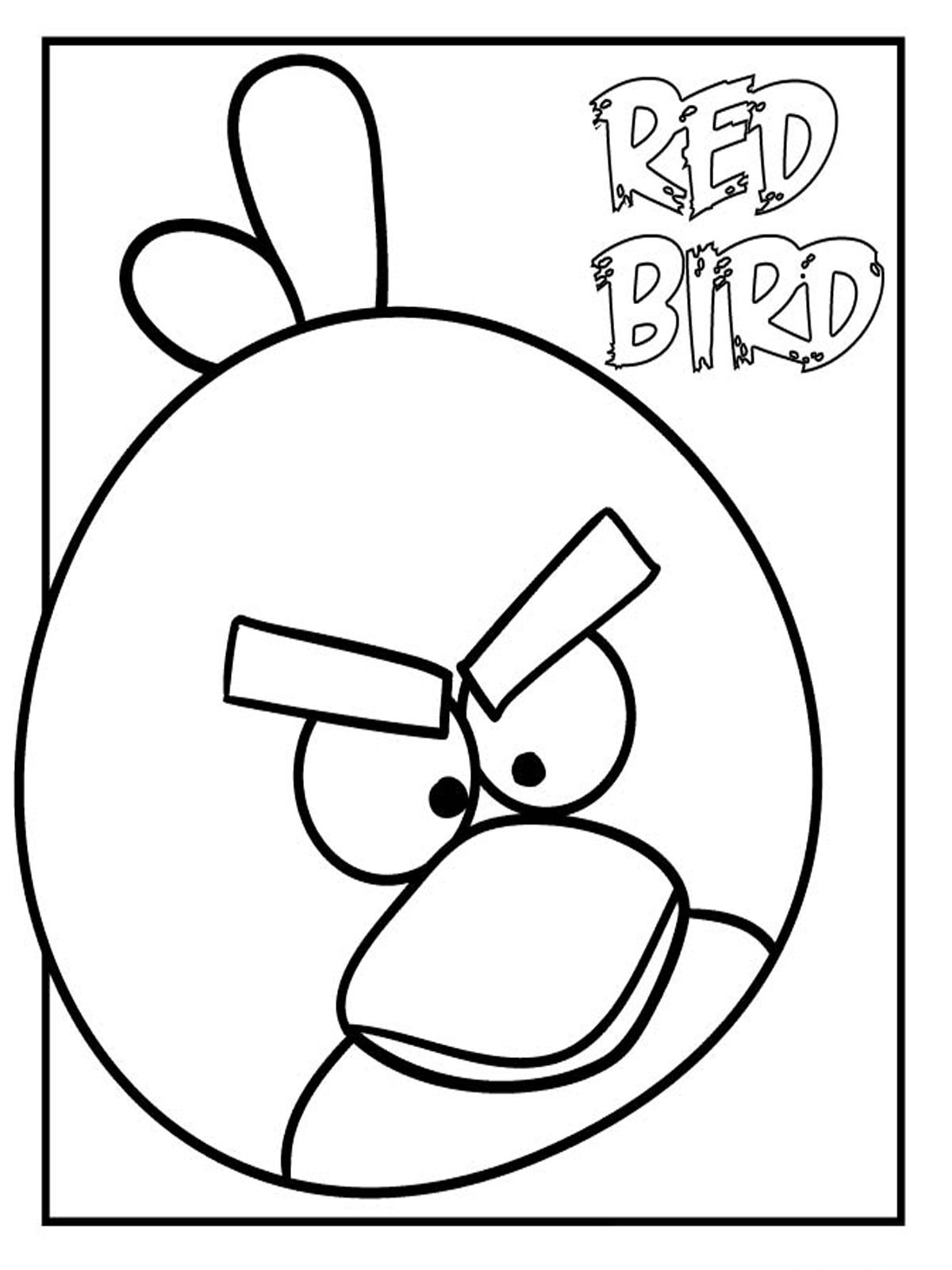 angry birds printable coloring pages angry bird terence coloring page coloring home coloring angry printable birds pages