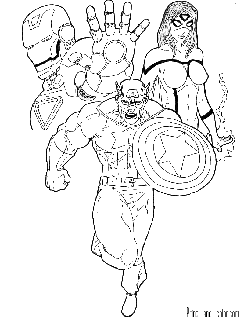 avengers coloring sheet avengers coloring pages print and colorcom coloring sheet avengers