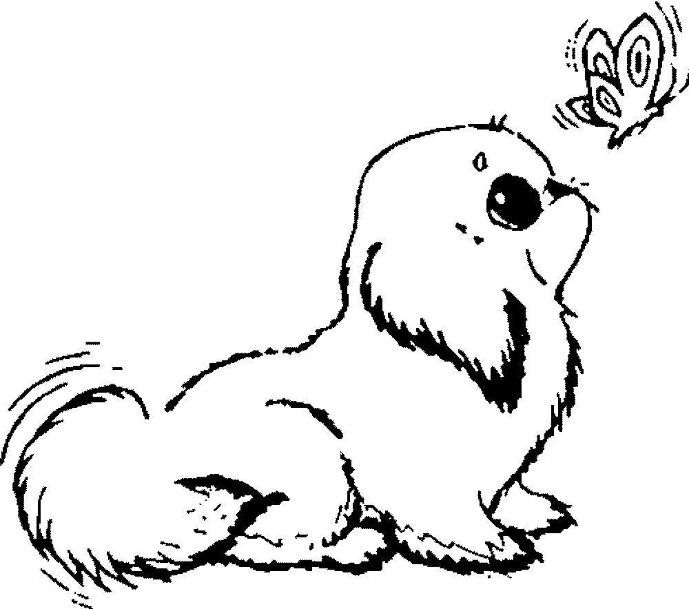 baby dog dog coloring pages cute dog coloring pages pictures whitesbelfast pages dog dog coloring baby