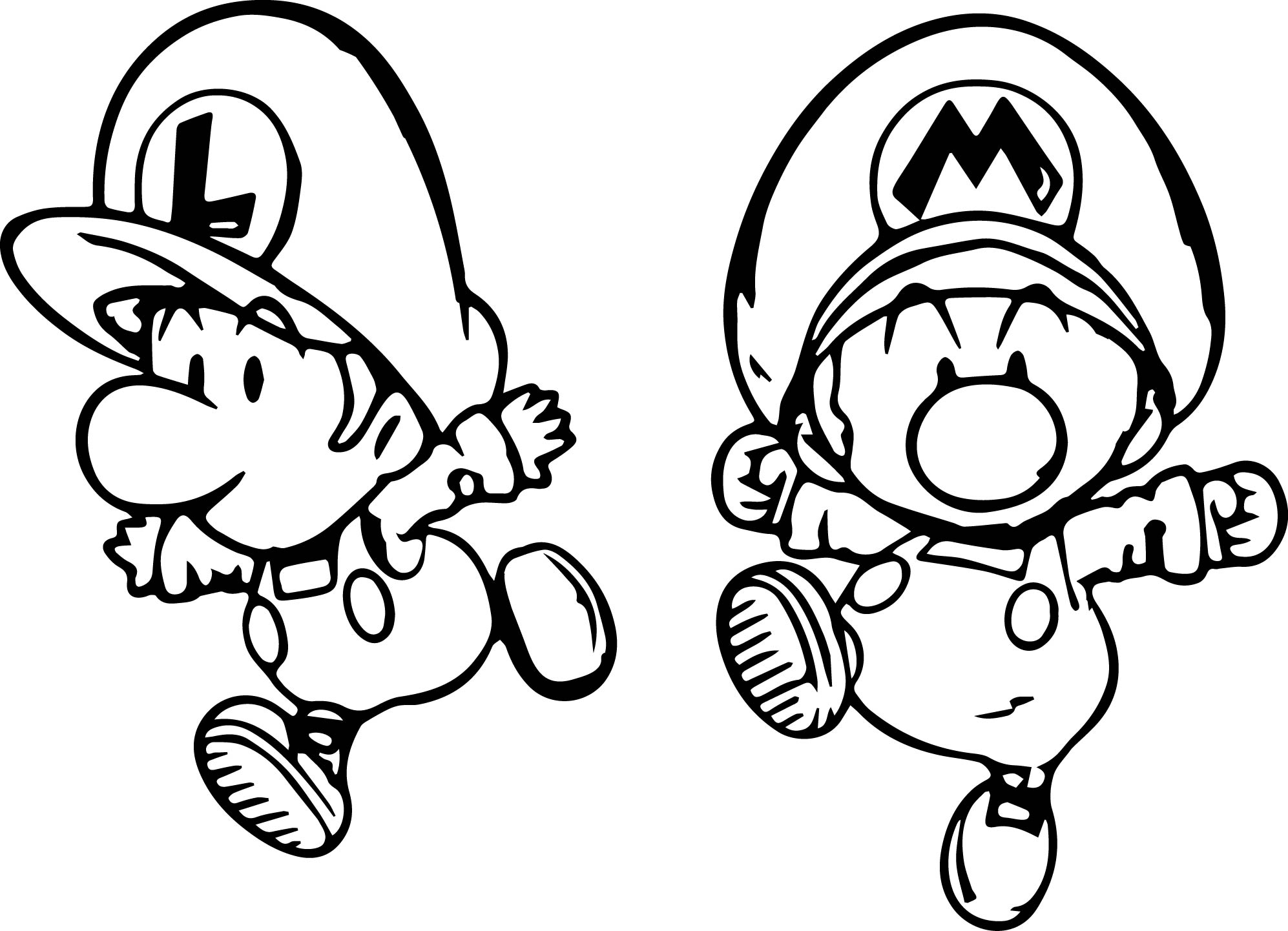 baby mario coloring pages baby mario coloring page free printable coloring pages coloring baby mario pages