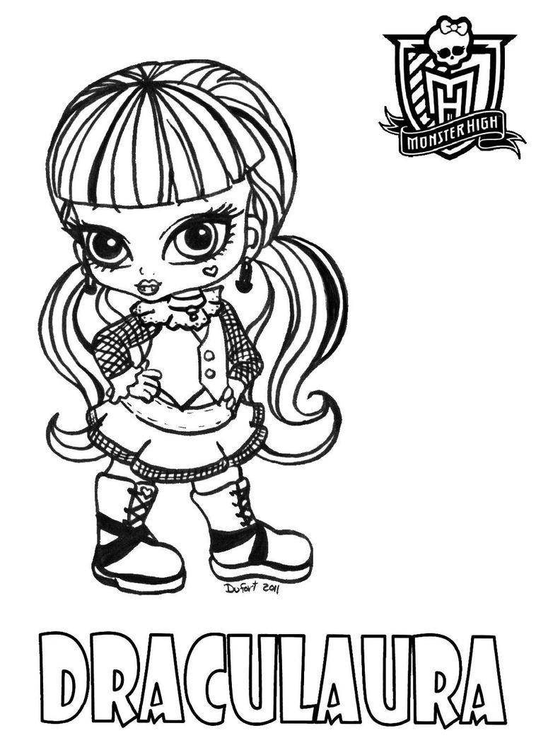 baby monster high coloring pages all about monster high dolls baby monster high character high monster coloring baby pages