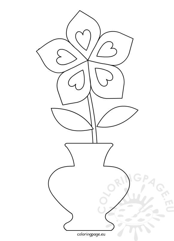 black and white color pages flower pot clipart black and white coloring page pages and color black white