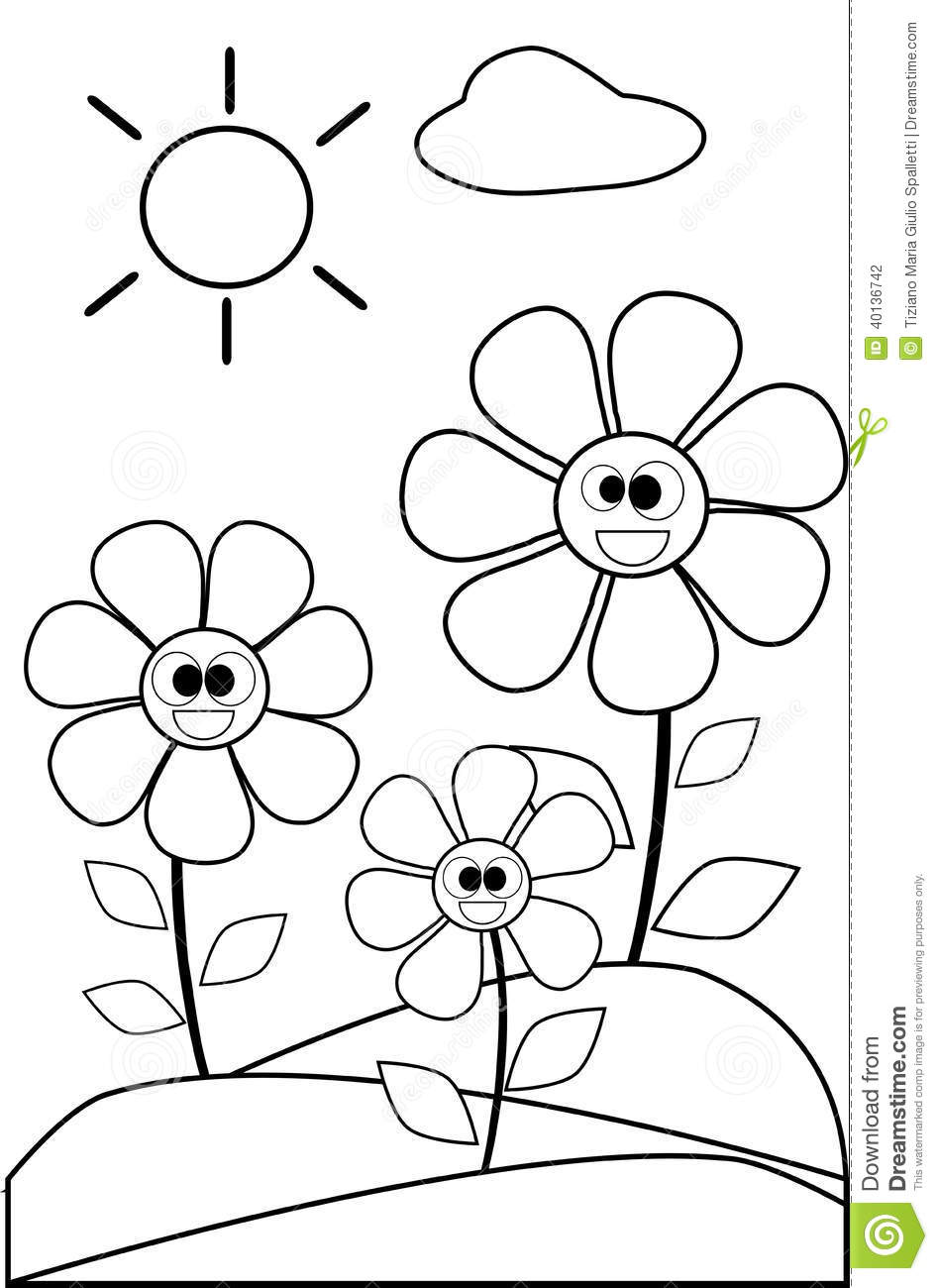 black and white color pages royalty free rf clipart illustration of a coloring page white black color pages and