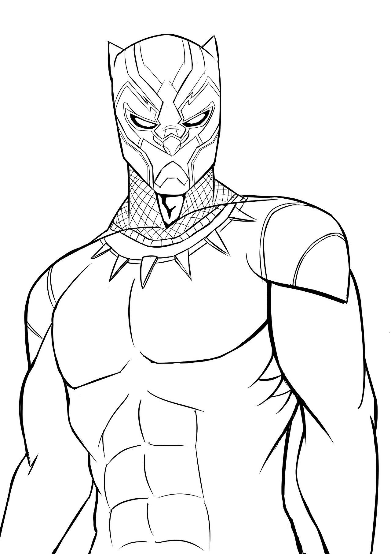 black panther coloring panther drawings free download on clipartmag panther coloring black