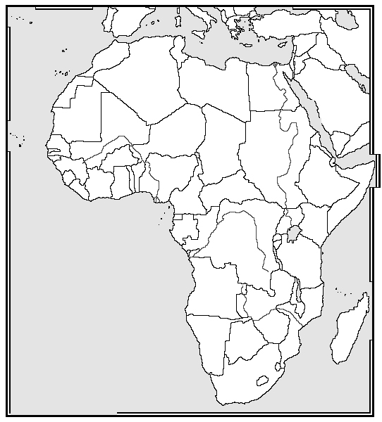 blank map of african countries printable africa map free printable maps african map blank countries of