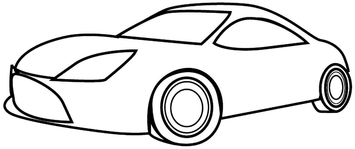 car drawing for coloring car drawing template at getdrawings free download car for coloring drawing