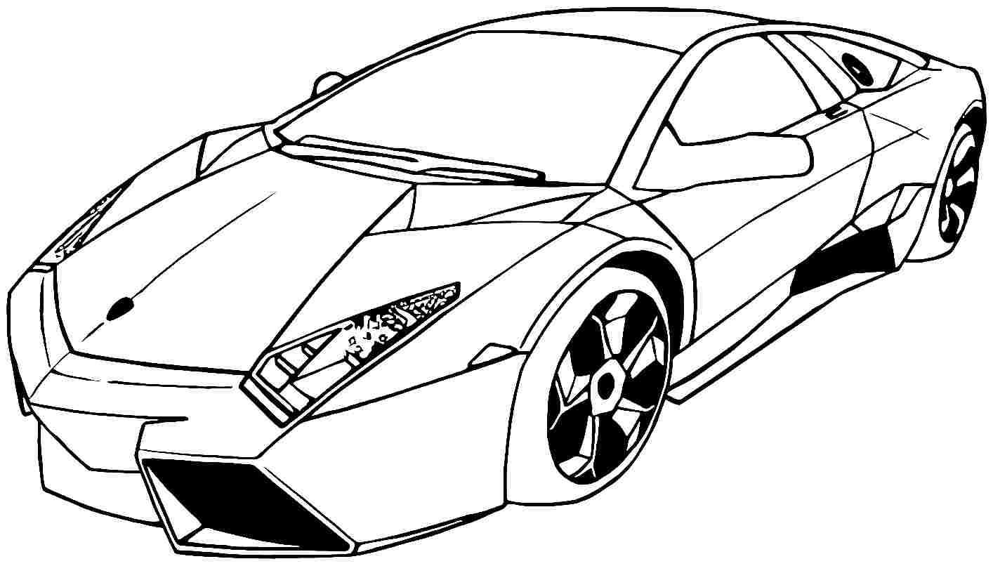 car drawing for coloring sports car drawing outline at getdrawings free download for drawing car coloring