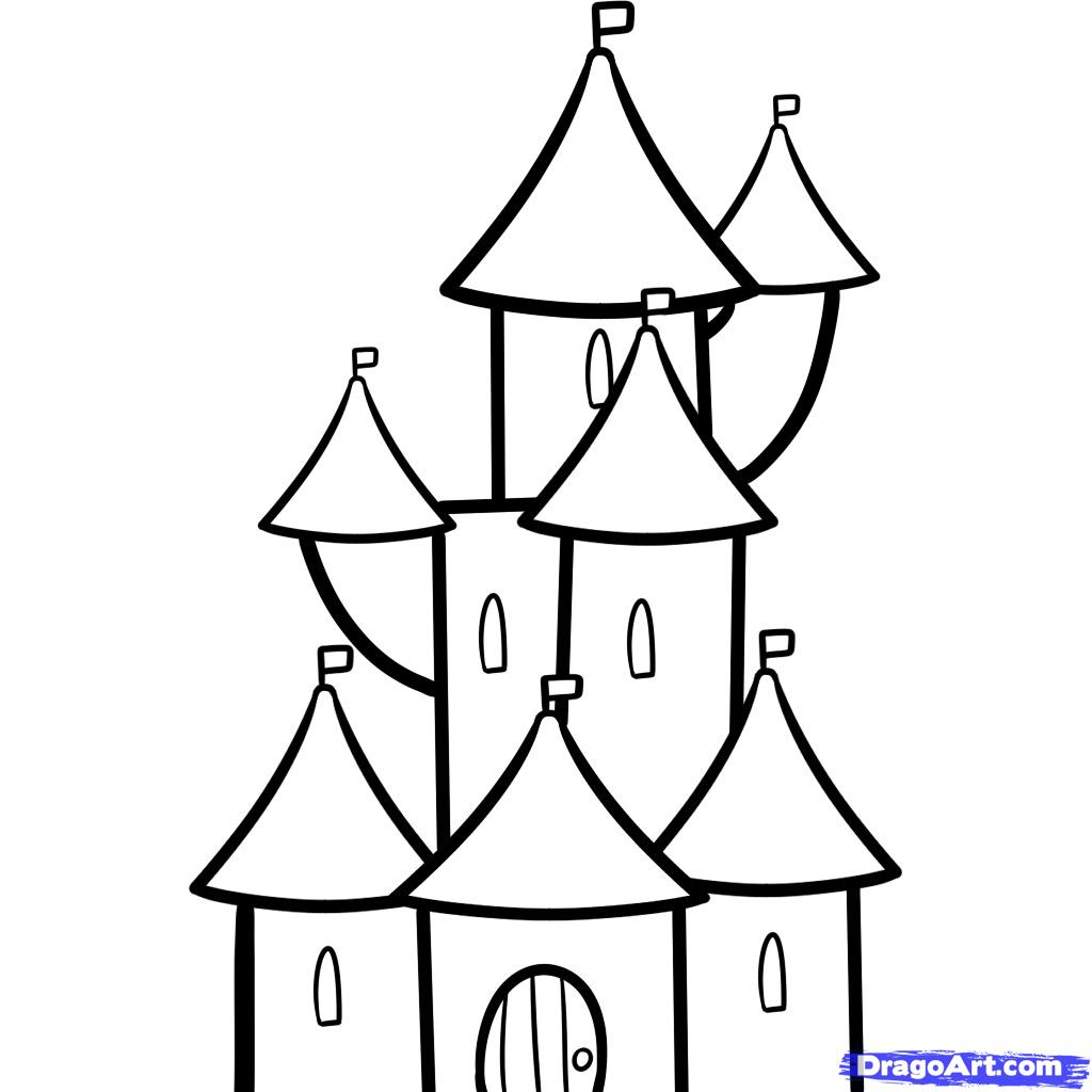 castle drawing easy castle drawing easy at getdrawings free download easy castle drawing