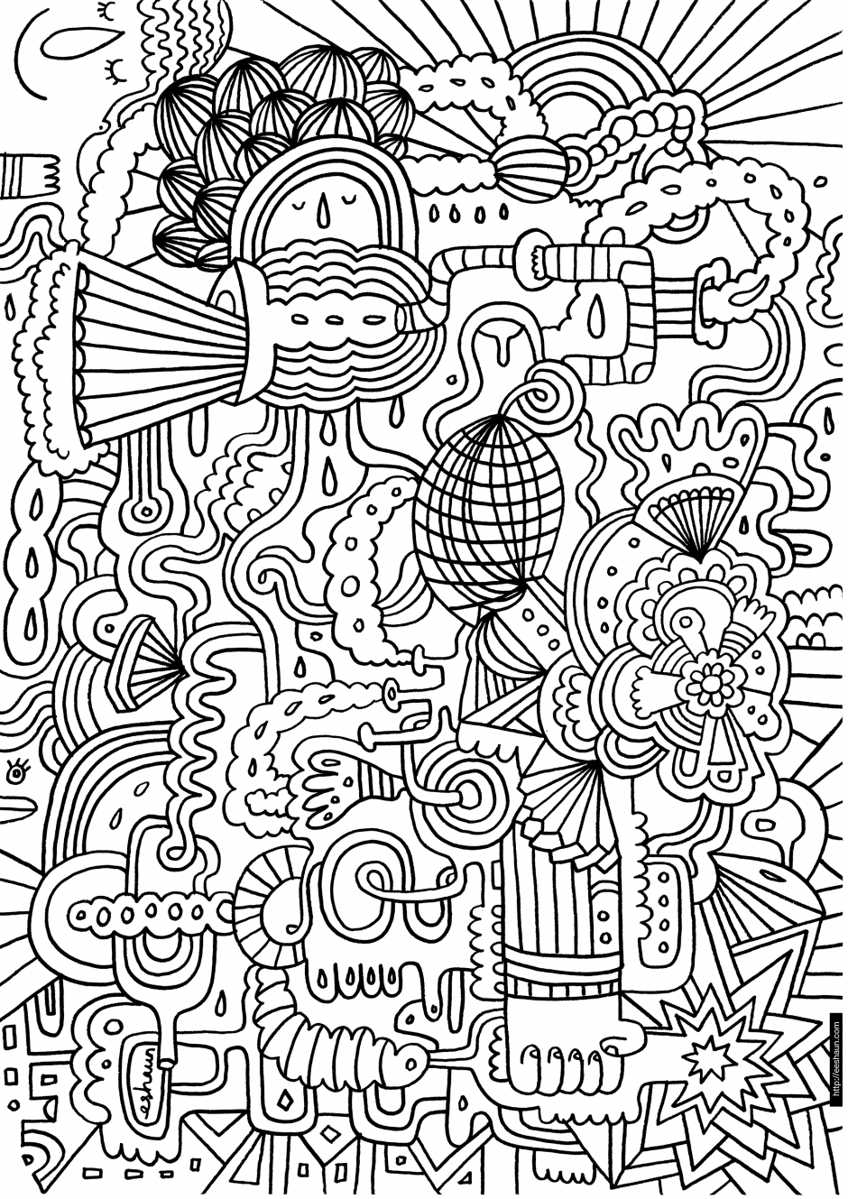 challenging coloring pages printable difficult coloring pages coloring home pages challenging coloring