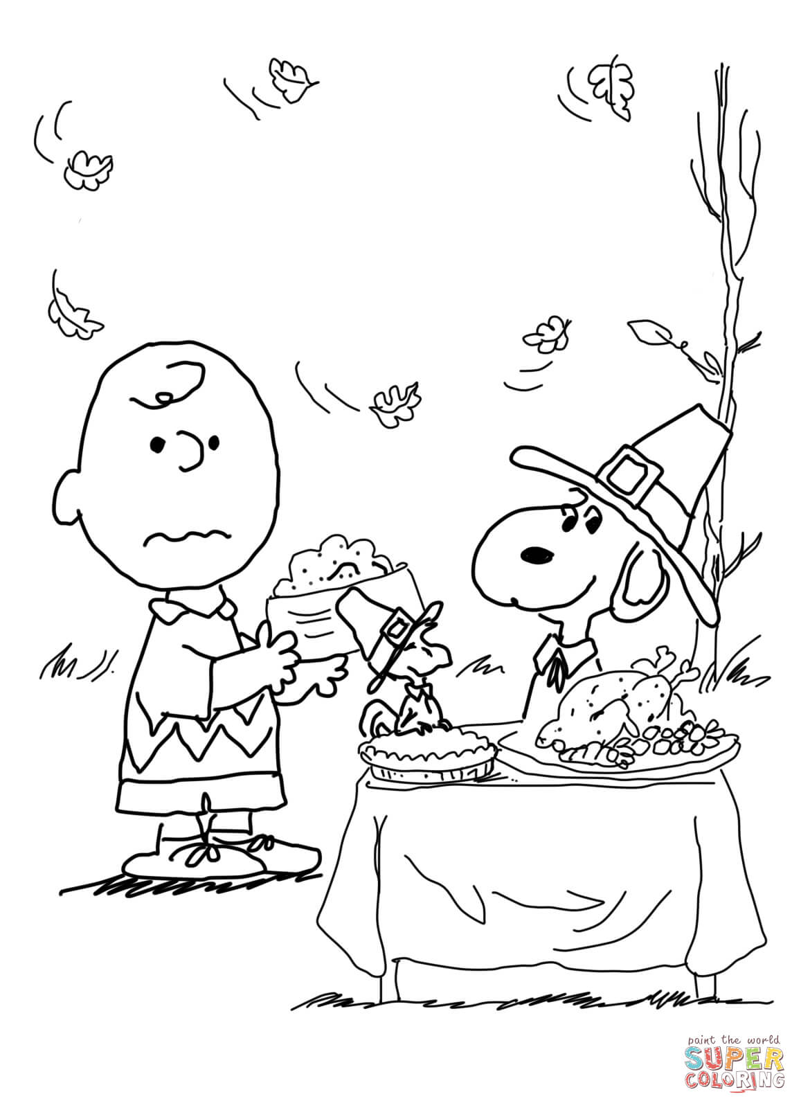 charlie brown thanksgiving coloring pages to print printable thanksgiving coloring pages for kids cool2bkids pages coloring charlie print thanksgiving brown to