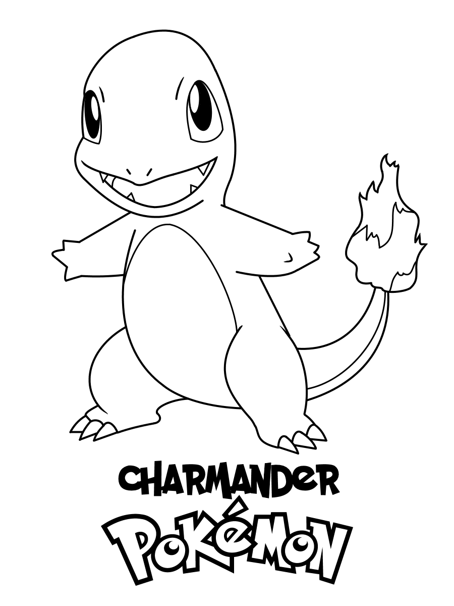 charmander colouring pages charmander coloring pages to download and print for free charmander pages colouring 1 1