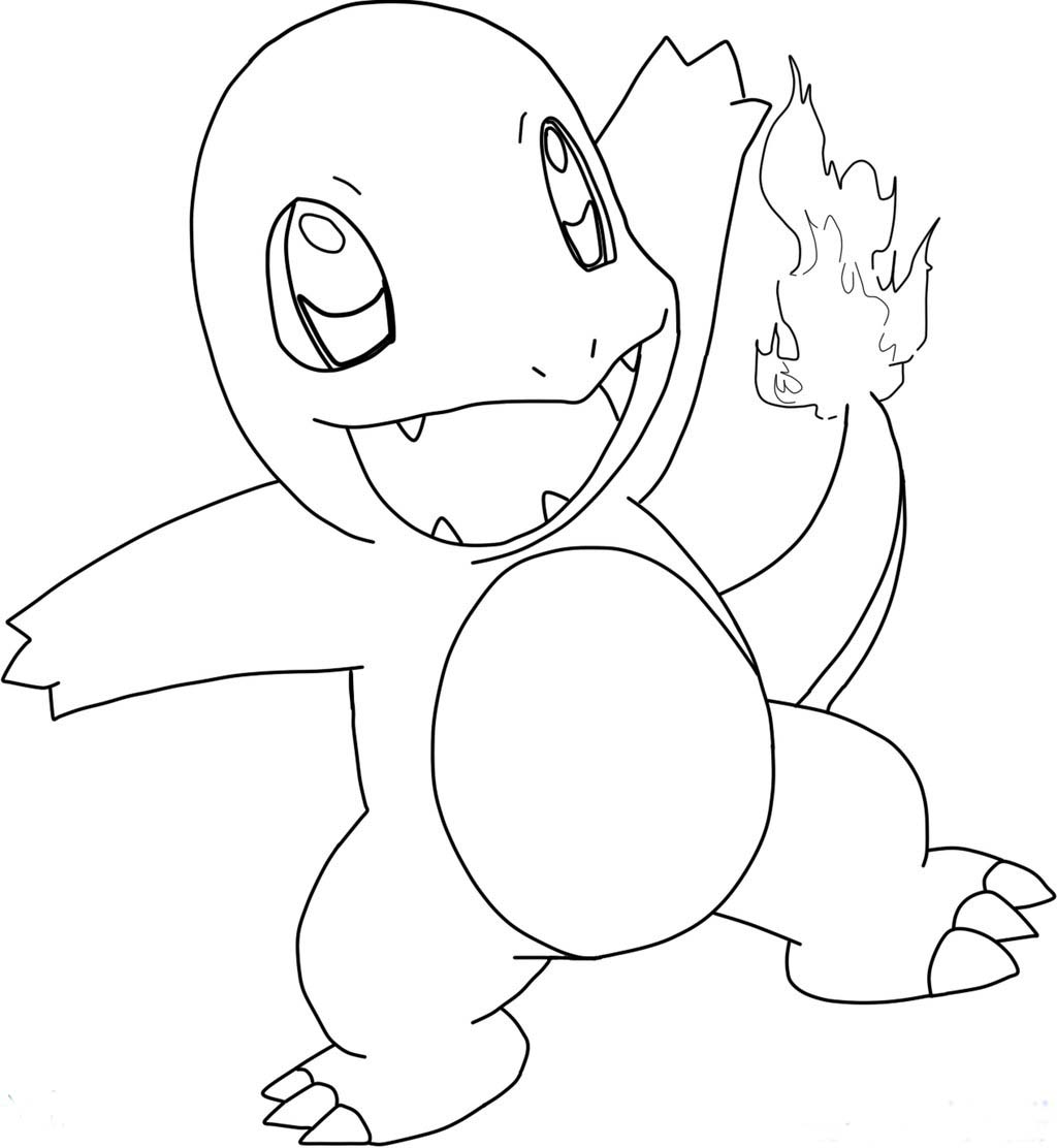 charmander colouring pages charmeleon coloring page at getcoloringscom free pages charmander colouring