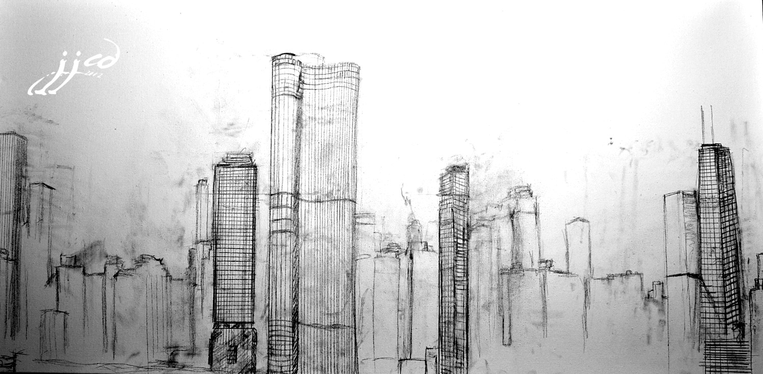 chicago skyline sketch quotchicago city skyline sketchquot by wfrancisdesign redbubble skyline chicago sketch