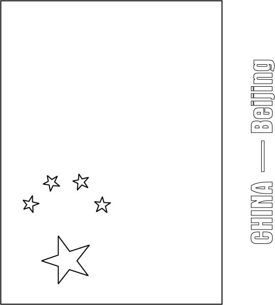 chinese flag coloring page chinese flag coloring pages free food ideas flag chinese coloring page