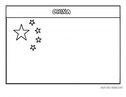 chinese flag coloring page printable flag of china coloring page printable coloring coloring flag page chinese