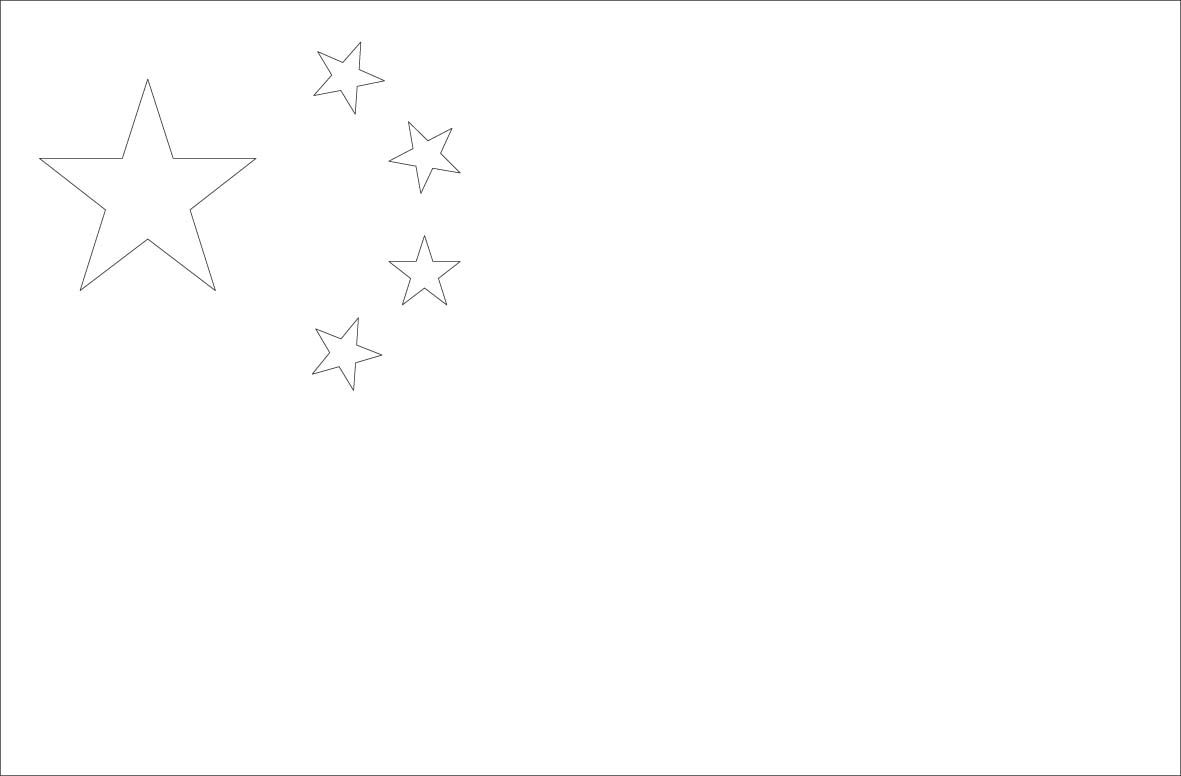 chinese flag coloring page world flags coloring pages 2 coloring page chinese flag
