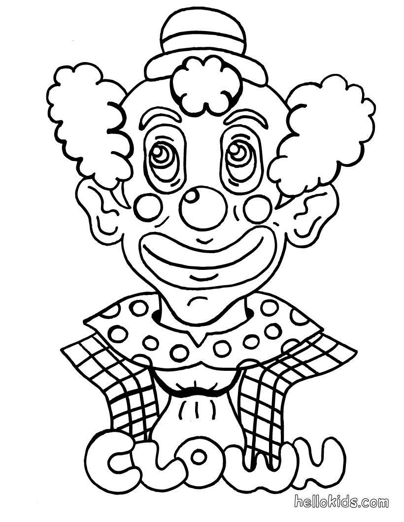 clown coloring sheets clown coloring pages to download and print for free sheets clown coloring