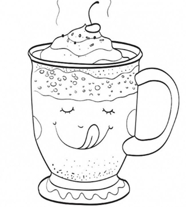 coffee cup coloring pages coffee coloring pages printable at getcoloringscom free pages coffee coloring cup