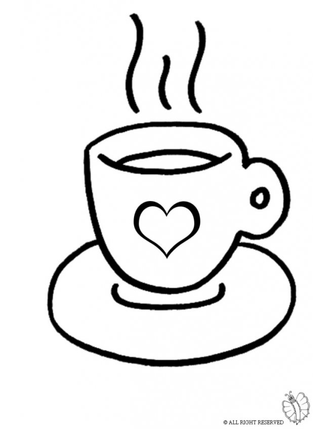 coffee cup coloring pages coloring page of coffee cup for coloring for kids coloring coffee cup pages