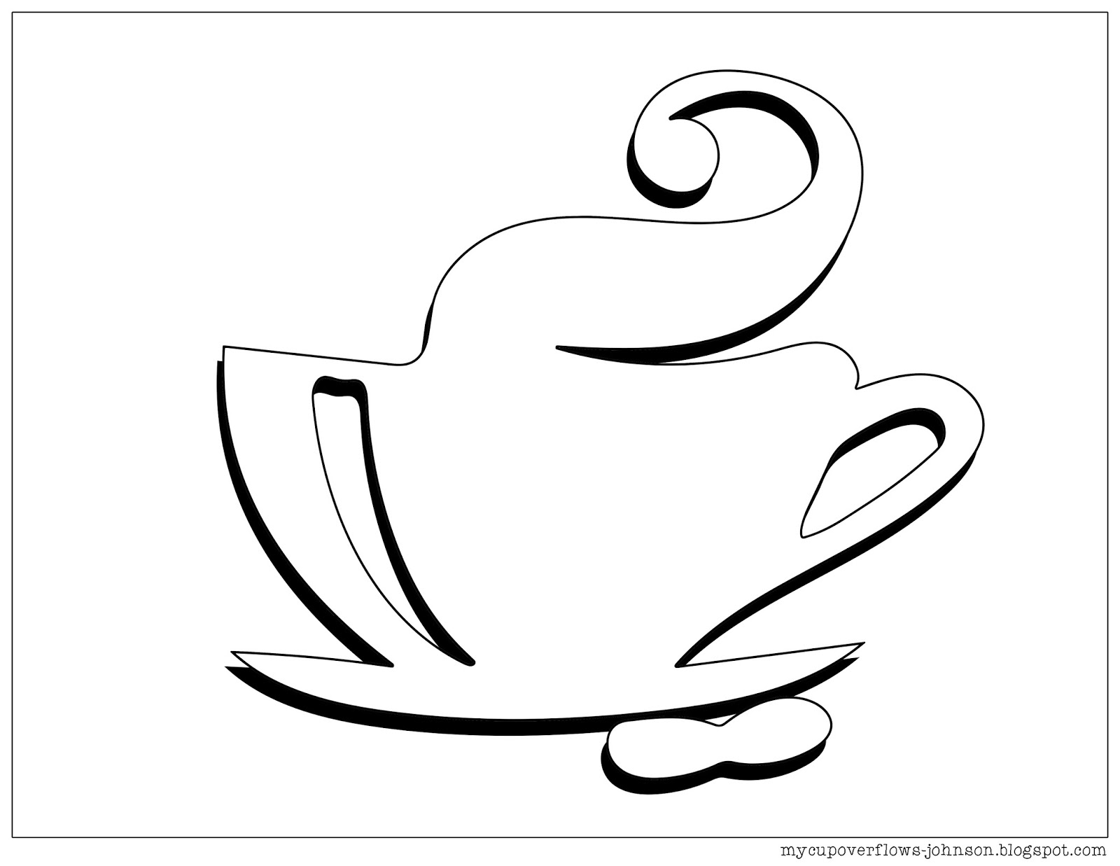 coffee cup coloring pages my cup overflows tea and coffee coffee coloring pages cup